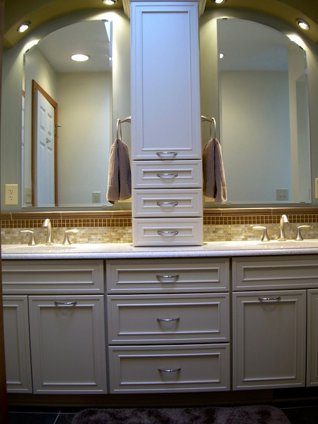Residential interior design rochester ny home decorator for Master bathroom vanity