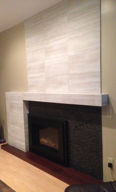 Balanced, Modern Fireplace Design
