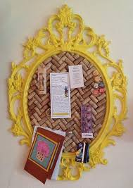 Picture Frame Corkboard